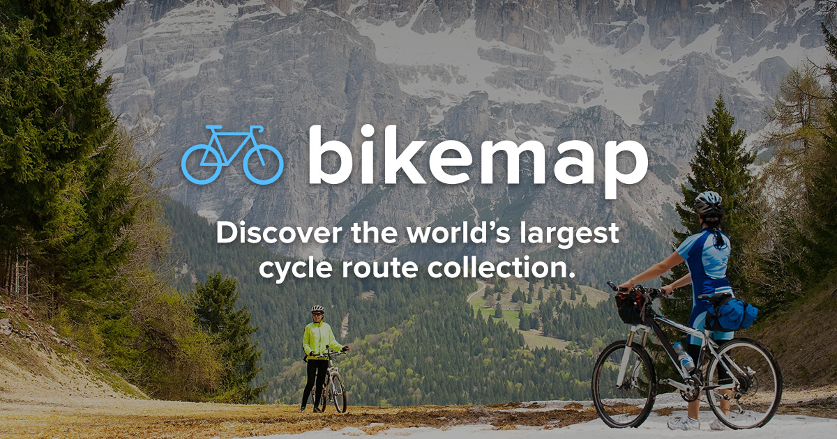 Create new route | Bikemap - Your bike routes on